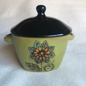 Stoneware Bowl with Lid